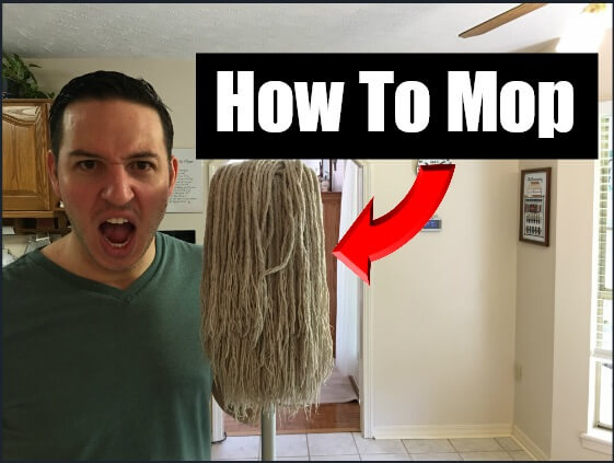 How To Mop Floors String Mop Cleaning Tutorial Clean With